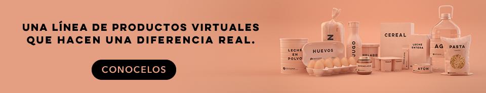 Productos virtuales donaciones reales